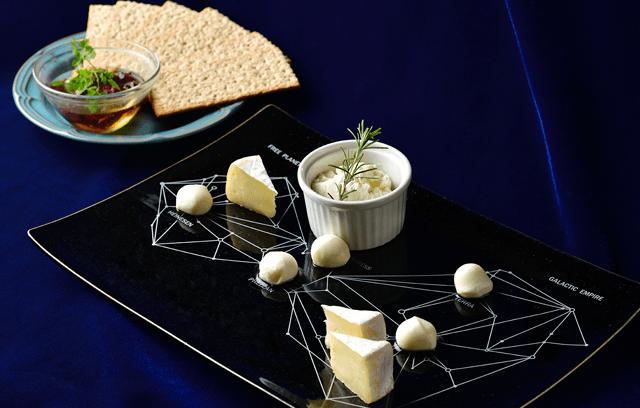 航路図チーズの盛り合わせ
